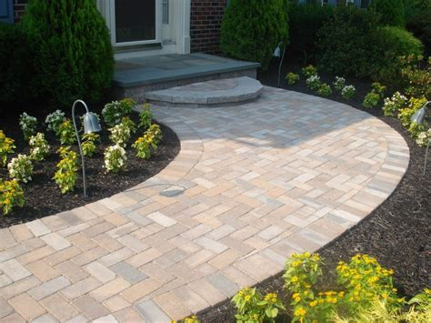 front walkway with steps ideas landscape with front