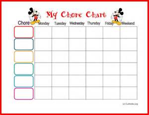 free mickey mouse chore chart acn latitudes