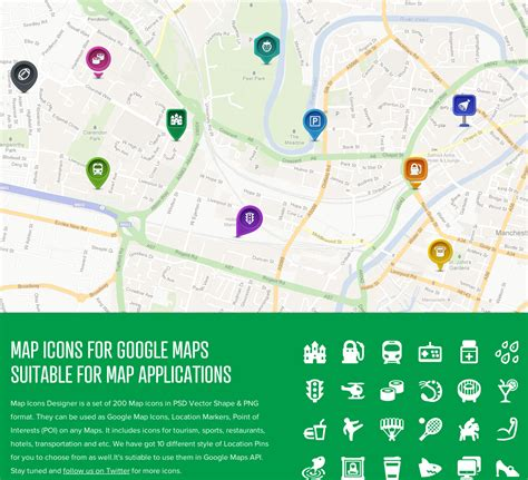 maps api usage iamdesigner 200 free vector map icons for maps api