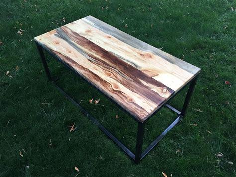 custom made coffee tables buy a custom made beetle kill bluestain pine wood coffee
