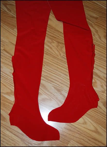 Spatu Slipon crash culture costuming boot cover tutorial updated