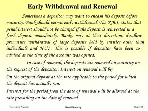 Letter Format For Withdrawal Of Fd fixed deposit accounts