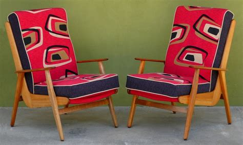 retro upholstery fabric australia don rex boomerang chairs upholstered by social fabric