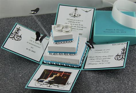 Wedding Invitations In A Box by Jinky S Crafts Designs Inspired Invitation Box