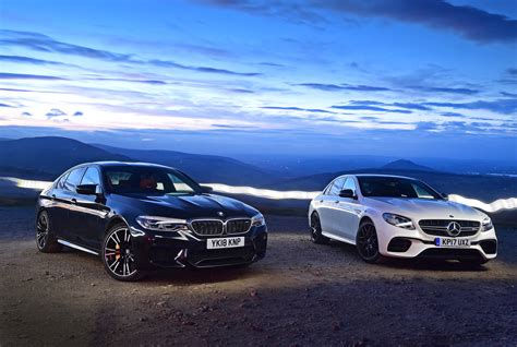 Bmw M Vs Mercedes Amg by Bmw M5 Vs Mercedes Amg E 63 S Pictures Auto Express