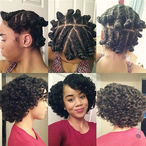 Bantu Knot Out Hairstyles by Bantu Knots Tutorial Plus 25 Pictures