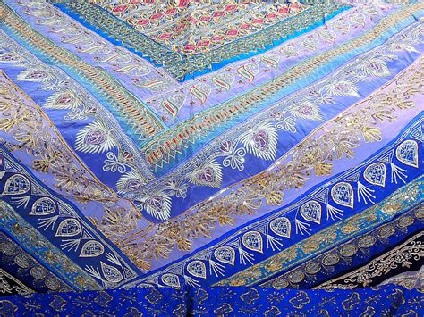 beaded bedspreads indian beaded bedding set blue duvet with pillows and
