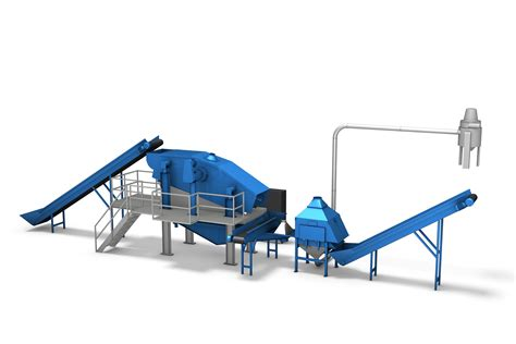 how to clean a rubber st steel cleaning system eldan recycling