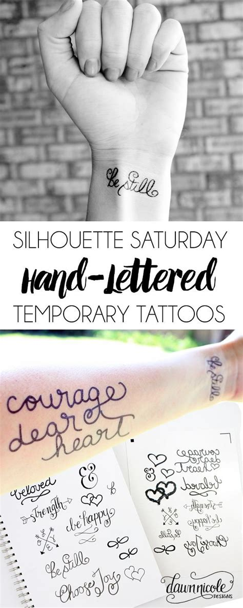 design your own temporary tattoo online 17 best images about cricut stuff and silhouette on