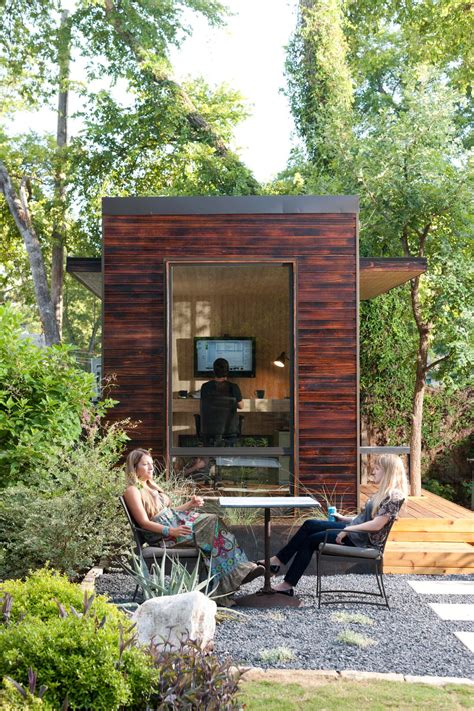 Backyard Studio Ideas Give Your Backyard An Upgrade With These Outdoor Sheds Hgtv S Decorating Design Hgtv