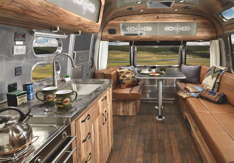 Mobile Home Interior Design Ideas by Iconic Airstream Gets A Magnificent Revamp To Celebrate