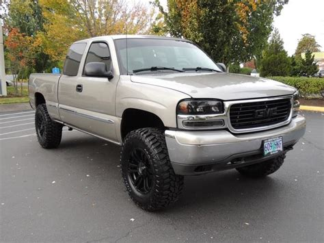 2002 gmc 1500 lifted 2002 gmc 1500 sle extended cab 4 door lifted lifted