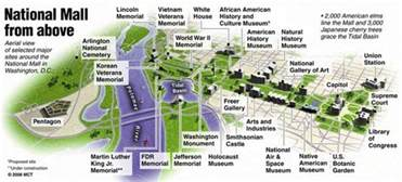 washington dc map national mall 3d national mall aerial map favorite places