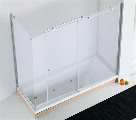 parete vasca cristallo parete per vasca in cristallo axia sf v f1 v relax