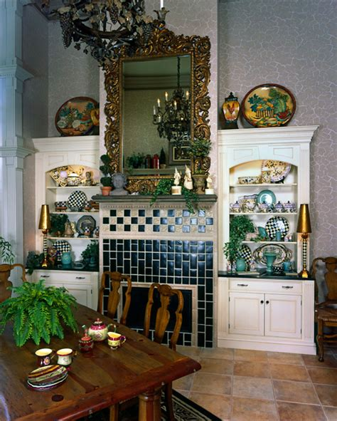 french country estate victorian dining room