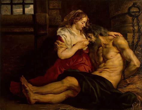 Roman Charity Peter Paul Rubens Wikiart Org