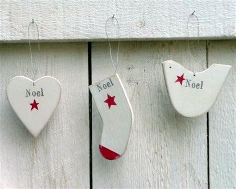 wooden noel decorations