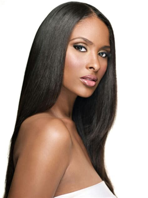 hairstyles for straight permed hair bone straight relaxed hair hair relaxed weaved wigs