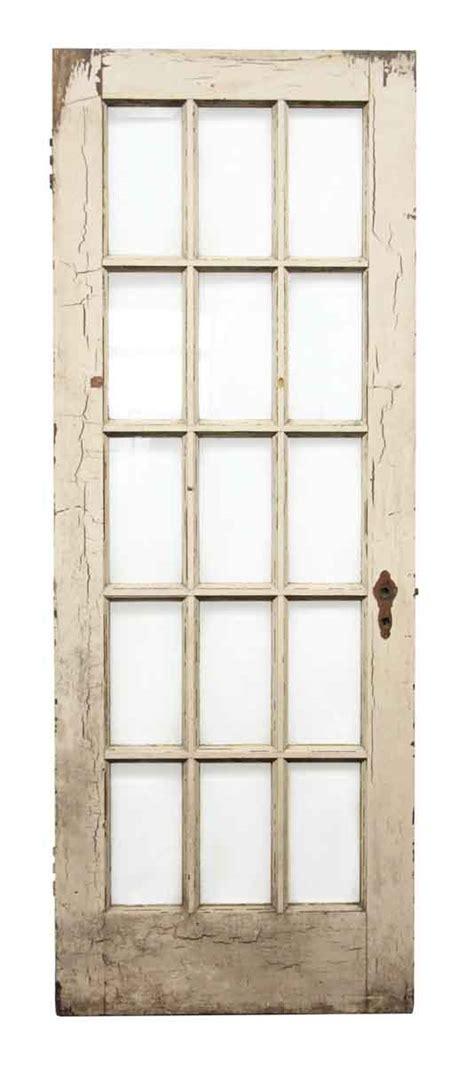 15 Glass Panel Door Beveled 15 Glass Panel Wooden Door Olde Things