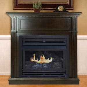 gas fireplace inspection cost pleasant hearth 27 500 btu 42 in convertible ventless gas fireplace in tobacco vff