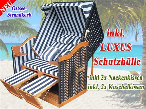 Ikea Strandkorb by Strandkorb Ostsee Blau Schwarz Kaufen Inkl
