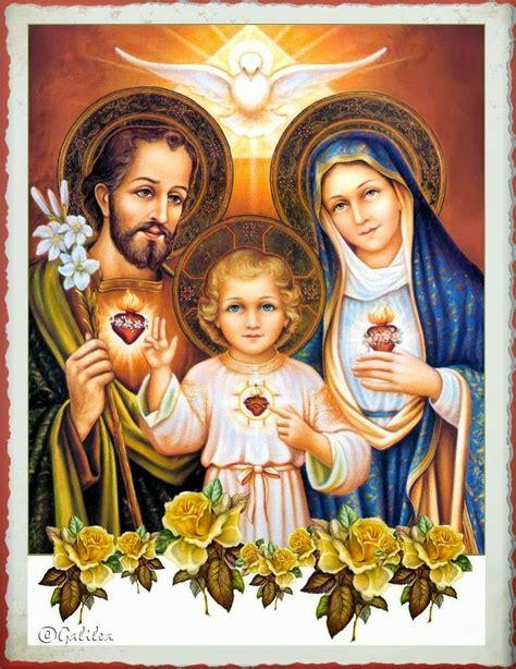 imagenes de la familia santa vida y fe rosario a la sagrada familia