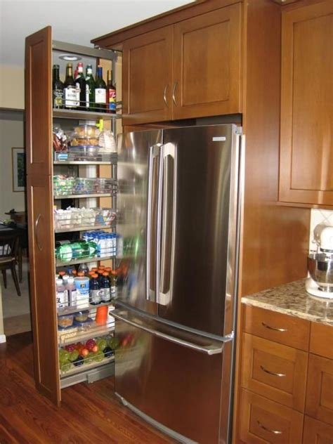 kitchen storage ideas   enhance  space pull