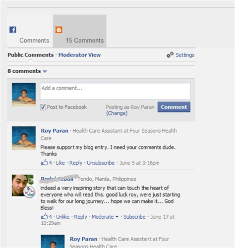 facebook comment section how to add facebook and blogger comments box blogger e how