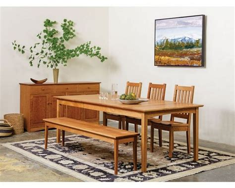 comfortable shaker style dining room decor