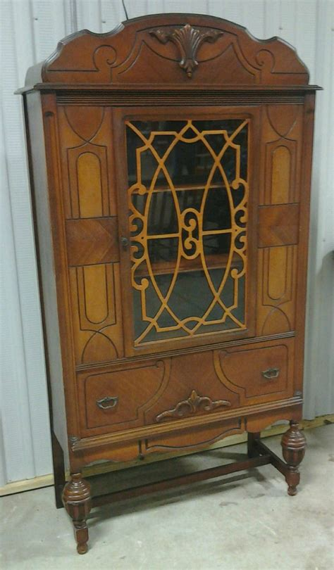 antique china cabinet circa 1930 the carmona house