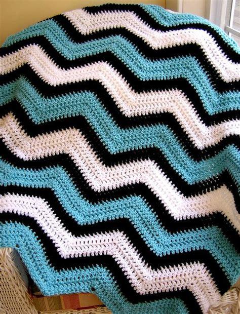 zig zag baby afghan pattern chevron zig zag baby blanket afghan wrap crochet knit lap