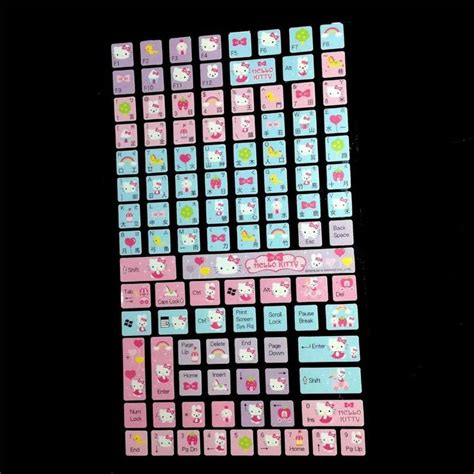 Hello Keyboard Sticker 26 best kawaii gt w