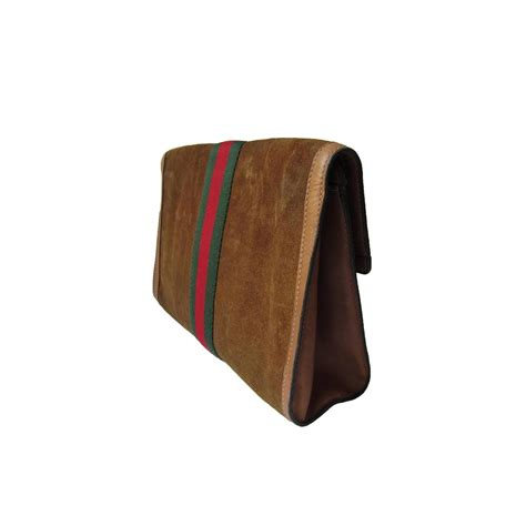 Gucci Classic Wallet 1 gucci classic suede clutch bag 60s at 1stdibs