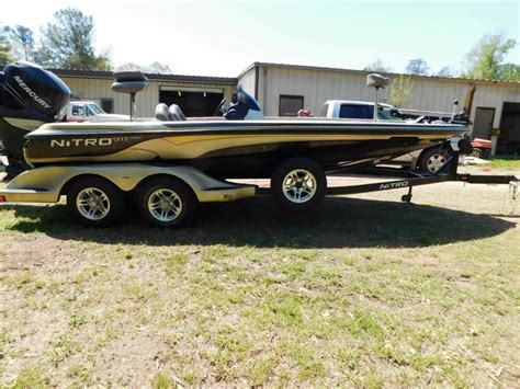 used nitro bass boats for sale in alabama 2006 used nitro 911 cdc bass boat for sale 25 000