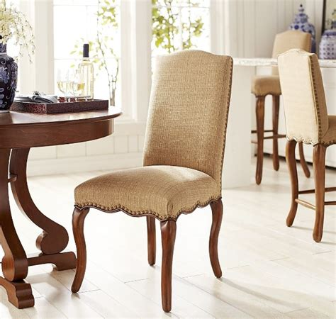 Dining Room Fabric Chairs Hemp Fabric Dining Chair Ideas For Classic Style Dining Room Decolover Net