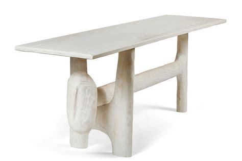 sculptural console table  casey mccafferty