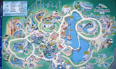 seaworld orlando map mapas dos parques de orlando the hotspot orlando