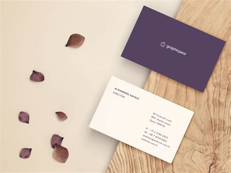 Business Cards Templates Front And Back Psd by Business Card Back Psd Images Card Design And Card Template