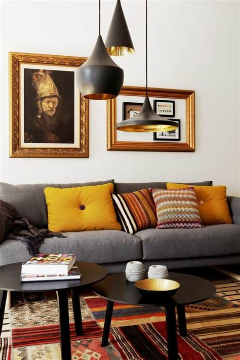 canape patchwork d 233 co salon moderne pour une atmosph 232 re chaleureuse