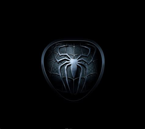 wallpaper for android phone spider logo android wallpaper hd