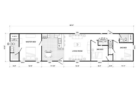 100 1999 fleetwood mobile home floor plan the