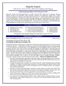 Sample Cfo Resumes resume cfo sample resume vp of finance sample resume certified resume