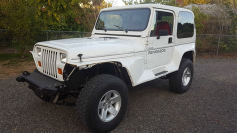 classic jeep renegade 1991 jeep wrangler yj renegade 4 0 high output classic
