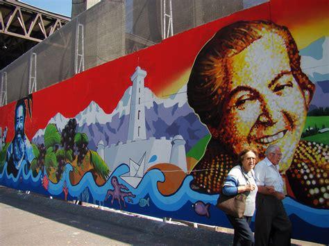 mural gabriela mistral este mural es el resultado de