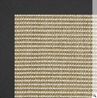 sisal rug with black border classic sisal rug with black cotton herringbone border sisal rugs the crucial rug store