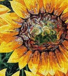 Factory Flower - sunflower mosaic flower power pinterest