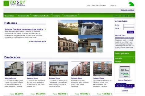 coslada 13 inmuebles subastas inmobiliarias caja madrid lanza un sistema de subastas continuas de