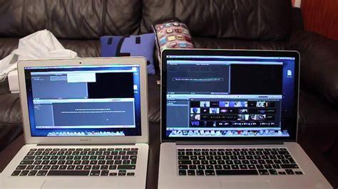 tutorial imovie macbook air macbook air 13 quot 2013 haswell vs macbook pro retina 15