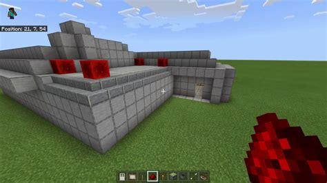 minecraft bedrock edition secret door tutorials