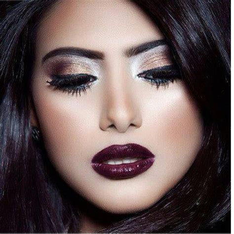 7 Dramatic Eyeshadow Looks For Winter by Arabic Makeup Trend Winter Make Up